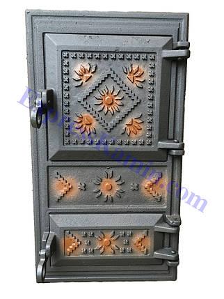 "Дверцы печные ""Вышивка"", фото 2"