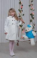 Модный детский плащ для девочки с бантиками