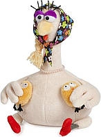 Курочка Няша с цыплятами 20 см Maxi toys (MT-TSA-8310-20)