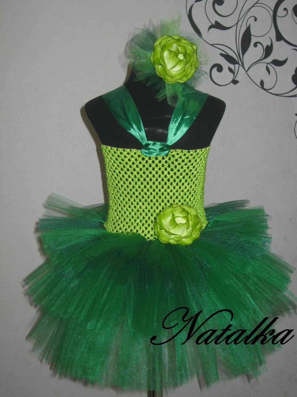 "Карнавальна сукня-спідниця з фатину ""Капуста"""