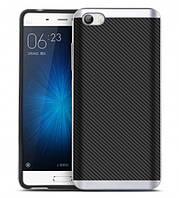 Чехол - бампер iPaky (Original) для Xiaomi MI5 / MI5 Pro - серебряный