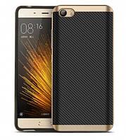 Чехол - бампер iPaky (Original) для Xiaomi MI5 / MI5 Pro - золотой