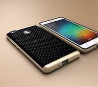 Чехол - бампер iPaky (Original) для Xiaomi Redmi 3 Pro / Redmi 3s - золотой