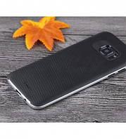 Чехол - бампер iPaky (Original) для Samsung G935F Galaxy S7 Edge - серебряный