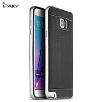 Чехол - бампер iPaky (Original) для Samsung G930F Galaxy S7 - серебряный