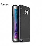 Чехол - бампер iPaky (Original) для Samsung Galaxy Note 5 - серый
