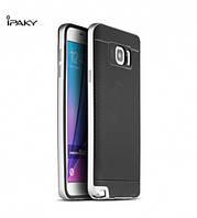 Чехол - бампер iPaky (Original) для Samsung Galaxy Note 5 - серебряный