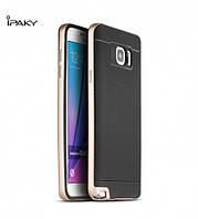 Чехол - бампер iPaky (Original) для Samsung Galaxy Note 5 - золотой