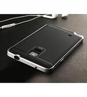 Чехол - бампер iPaky (Original) для Samsung N910H Galaxy Note 4 - серебряный