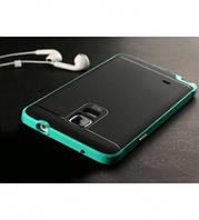 Чехол - бампер iPaky (Original) для Samsung N910H Galaxy Note 4 - зеленый