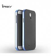 Чехол - бампер iPaky (Original) для Samsung i9500 Galaxy S4 - синий