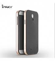 Чехол - бампер iPaky (Original) для Samsung i9500 Galaxy S4 - золотой