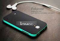 Чехол - бампер iPaky (Original) для Samsung i9500 Galaxy S4 - зеленый