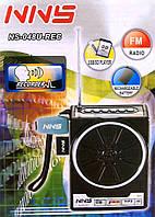 Акустическая колонка,  Радио NNS NS-048U-REC, MP3/SD/USB/FM/, black, фото 1