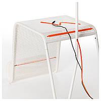 IKEA ИКЕА ПС 2014 Придиванный столик с подсветкой, белый : 20263646, 202.636.46