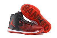 Мужские баскетбольные кроссовки Nike Air Jordan XXXI (31) Black/Red/White Реплика, фото 1