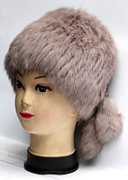 Меховая зимняя женская шапка кубанка