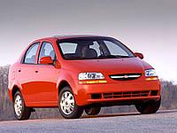 Лобовое стекло Chevrolet Aveo II голубая полоса