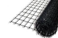 Сетка пластиковая Клевер птичка 1x50 м (12x14 мм) черная