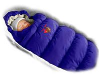 Конверт-пуховик Ontario Baby Inflated (дутик 50х90) Зима синий