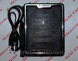 Акустическая колонка,  Радио NNS NS-047U, MP3/SD/USB/FM/, black, фото 2