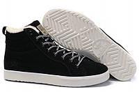 Кроссовки мужские Adidas Ransom Fur Black Suede (адидас) черные