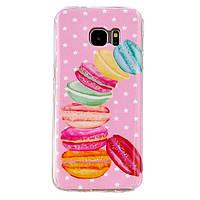 Чехол для Samsung Galaxy A7/A710 с картинкой Печенье Макаронс