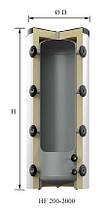 Буферная емкость для систем отопления с теплоизоляцией REFLEX Storatherm Heat HF , фото 3