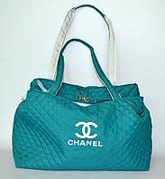 Молодежная женская сумка Chanel LS-3560 (бирюза)