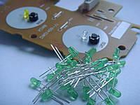 Led диод green платы кнопок PLAY/CUE для Pioneer cdj