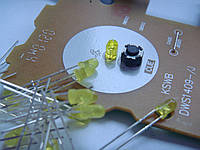Led диод yellow платы кнопок PLAY/CUE для Pioneer cdj