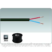 Медный акустический кабель в дополнительной изоляции 2х2.5мм2 Monacor SPC-525/SW