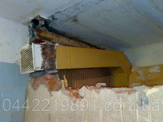 Демонтаж стен в квартире.