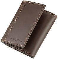 Кожаное портмоне Guess Оригинал качество стильная модель мужской кожаный кошелек Гуесс кожа