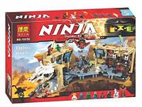 """Конструктор Bela Ninja 10530 """"Самурай Х: Битва в пещерах"""" 1307 дет"""
