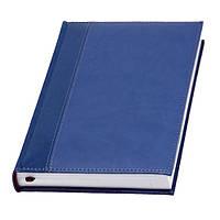 Ежедневник 'Имаж 1' (Темно-синий), Датированный, Белый блок, под нанесение логотипа