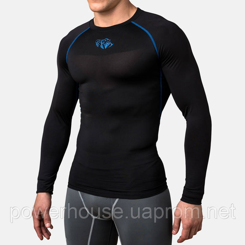 Рашгард Peresvit Air Motion Compression Long Sleeve T-Shirt Black Blue