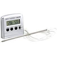 Кухонный термометр со щупом цифровой