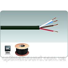 Медный акустический кабель в дополнительной изоляции 4х2.5мм2 Monacor SPC-540/SW