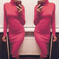 Платье женское Подиум коралл , платье интернет магазин