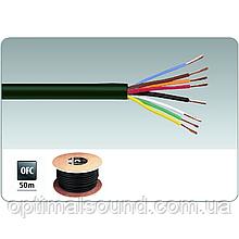 Медный акустический кабель в дополнительной изоляции 8х2мм2 Monacor SPC-580/SW