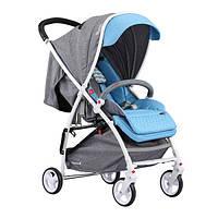 Детская прогулочная коляска Quatro Lion Turquise (голубая) 13