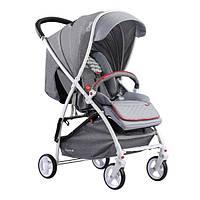 Детская прогулочная коляска Quatro Lion Light Grey (светло-серая) 14