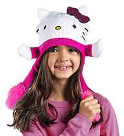 Шапочки детские Hello Kitty Flipeez Action Hat PINK & WHITE