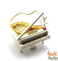 Музыкальная шкатулка с балериной Рояль