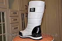 Сапоги женские Adidas Neo, зимние (натуральная кожа), фото 3
