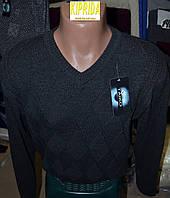 Мужской свитер с V-образным вырезом