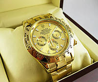 Часы Rolex Daytona 40mm All Gold (Механика). Replica, фото 1