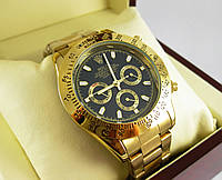 Часы Rolex Daytona Gold/Black (Механика).