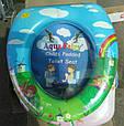 Детская мягкая накладка для унитаза  Aqua Fairy, фото 2